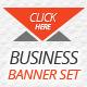 Elegant Business Banner Set - GraphicRiver Item for Sale