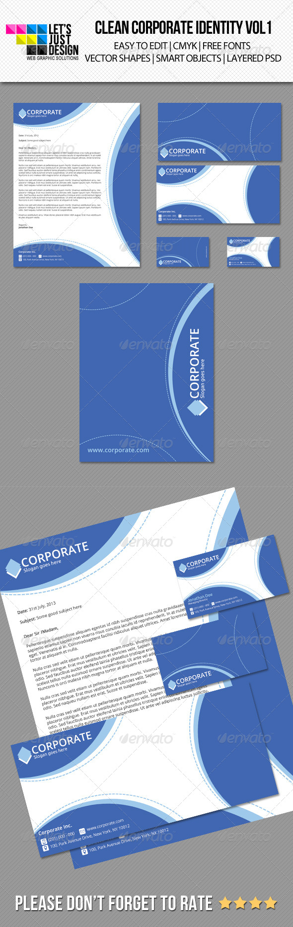 GraphicRiver Clean Corporate Identity vol 1 5220173