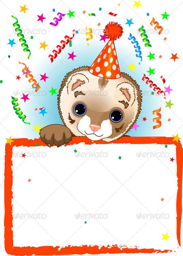 GraphicRiver Polecat Birthday 5268355