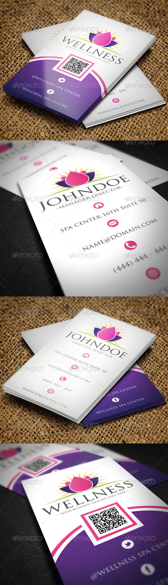 GraphicRiver Spa Business Card 5268568