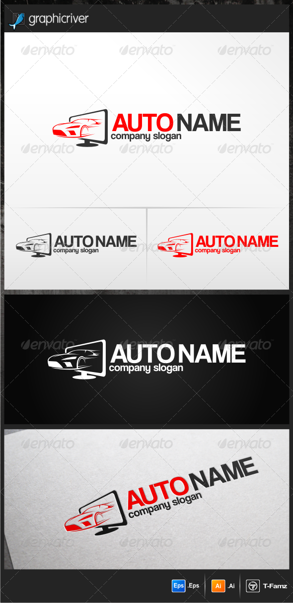 GraphicRiver Auto Logo Templates 5268848