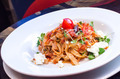Pasta with tomato and feta cheese - PhotoDune Item for Sale