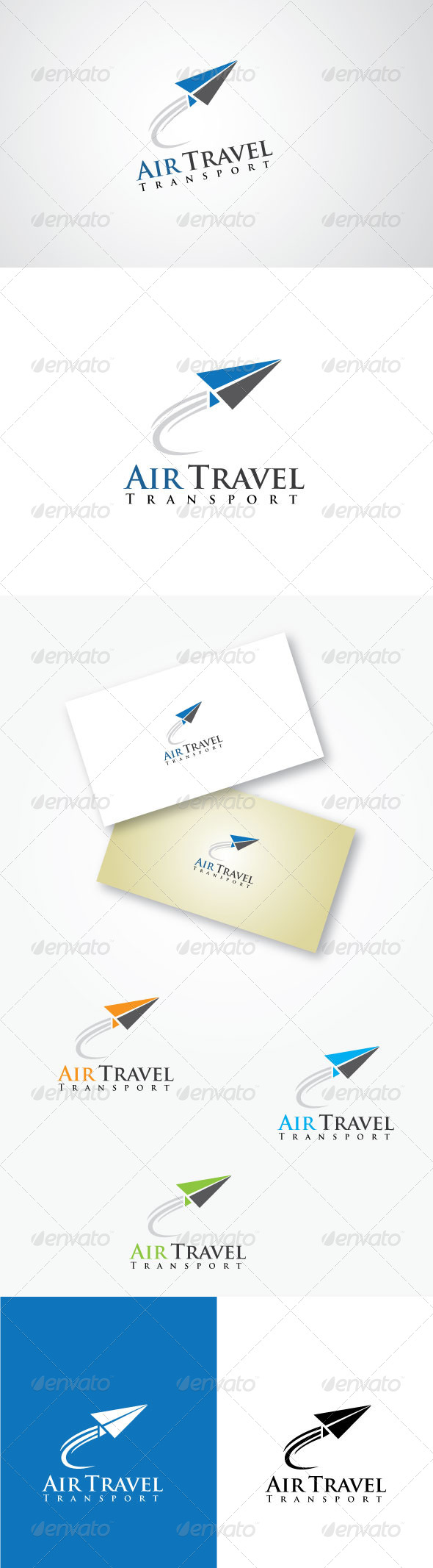 GraphicRiver Air Travel Transport Logo 5269140