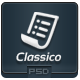 Classico - PSD Email Template - GraphicRiver Item for Sale