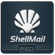 ShellMail - PSD Email Template - GraphicRiver Item for Sale