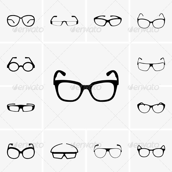 GraphicRiver Glasses 5272051