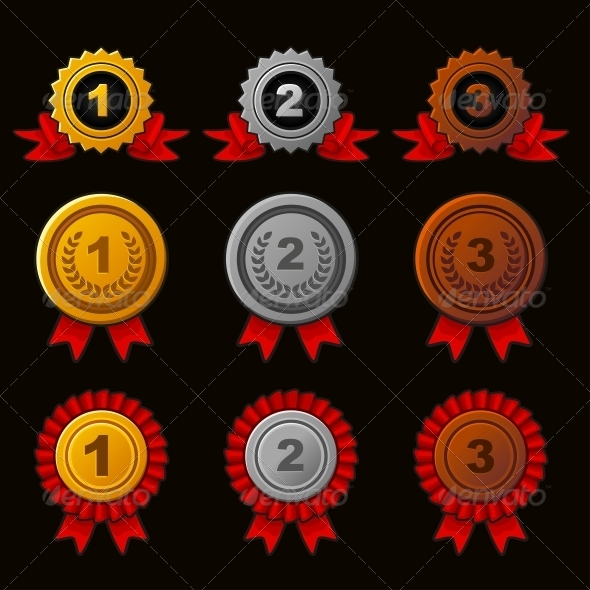 GraphicRiver Achievement Icons Set 5272064