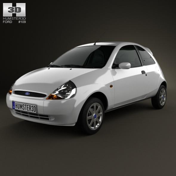 3DOcean Ford Ka 2003 5272398