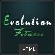 Link toEvolution fitness - responsive html5 theme