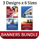 Creative Multipurpose Web Banner Bundle - GraphicRiver Item for Sale
