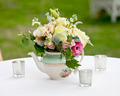 flower arrangement in old tea pot - PhotoDune Item for Sale