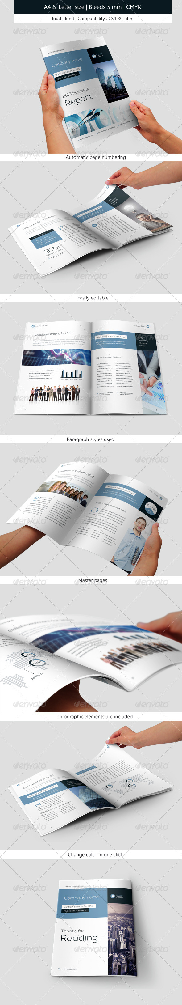 GraphicRiver Corporate & Business Brochure IndesignTemplate 5230254