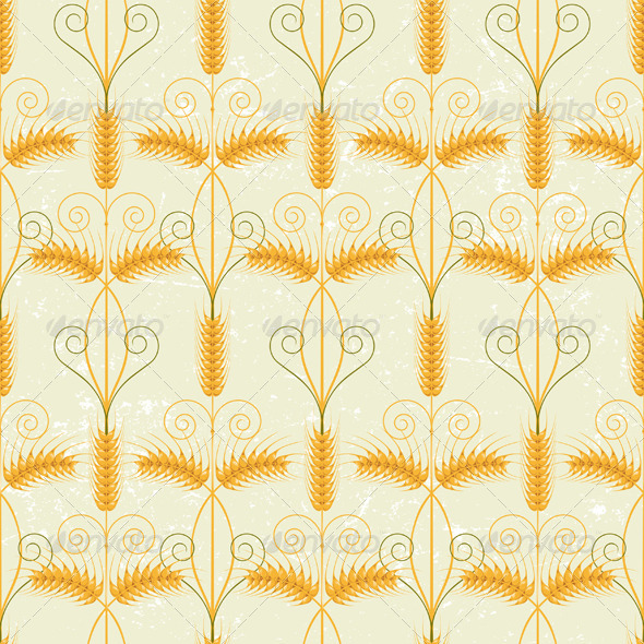 GraphicRiver Wheat Seamless 5278214