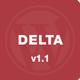 Delta – Flat Designed WP Mobile Theme  Free Download