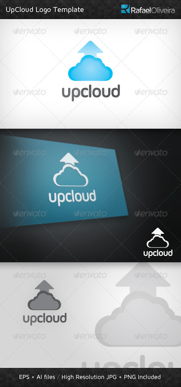 UpCloud Logo Template - Symbols Logo Templates