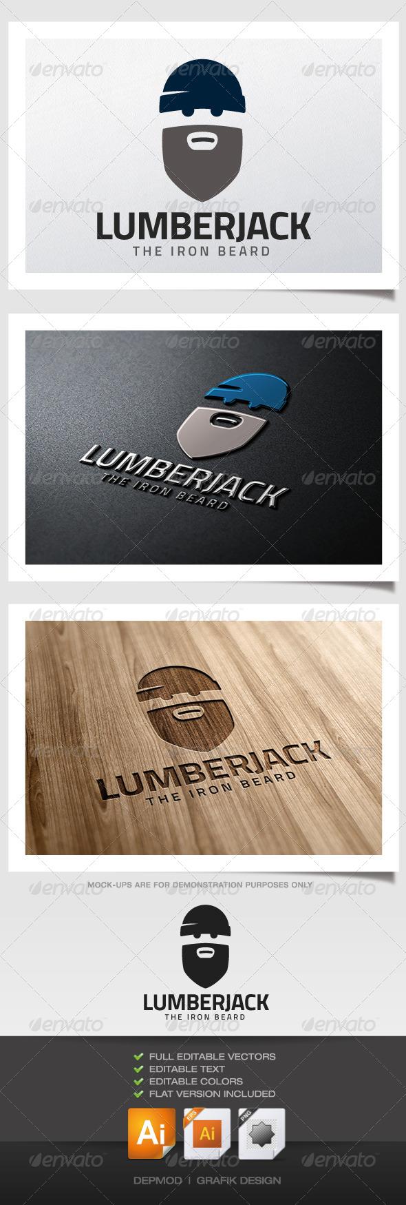 GraphicRiver Lumberjack Logo 5280888