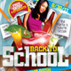 Back To School Party Flyer Template 2 - GraphicRiver Item for Sale