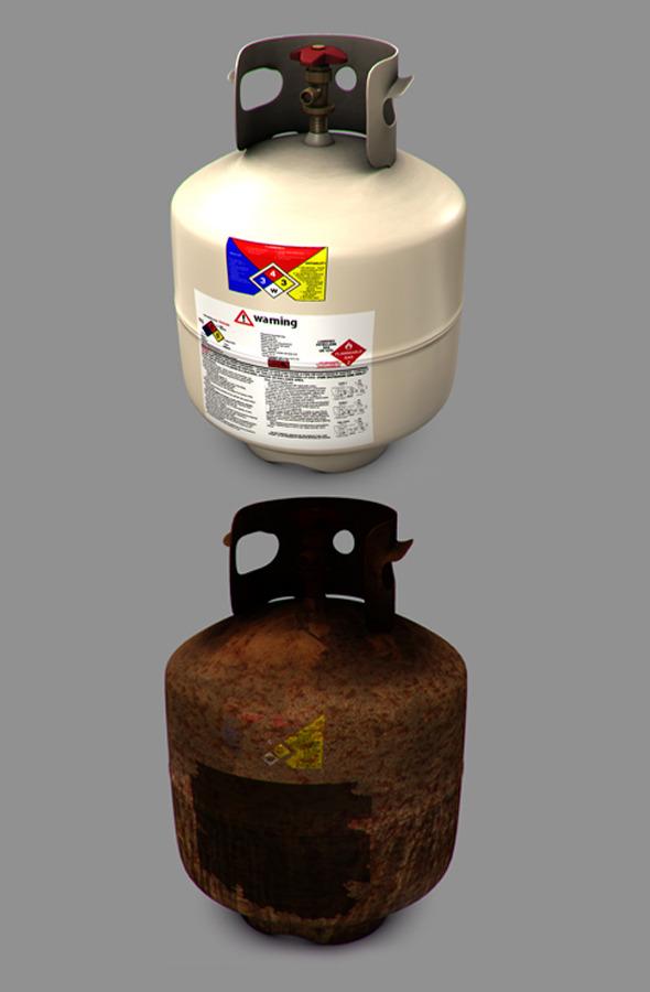 3DOcean Propane Tank 543014