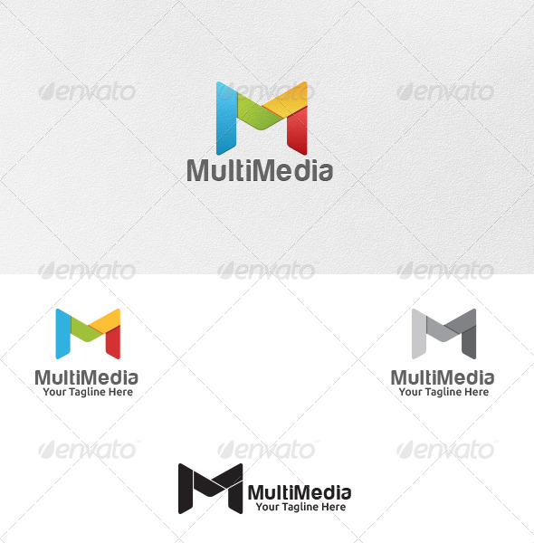 GraphicRiver Letter M Logo Template 5281782