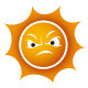 Danger Sun Logo - GraphicRiver Item for Sale