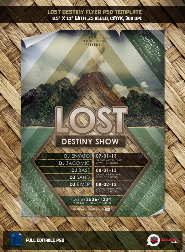 GraphicRiver Lost Destiny Show 5282146