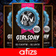 GirlsDay Party Flyer - GraphicRiver Item for Sale