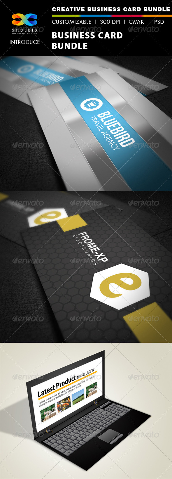GraphicRiver Business Card Bundle 3 in 1-Vol 16 5285444