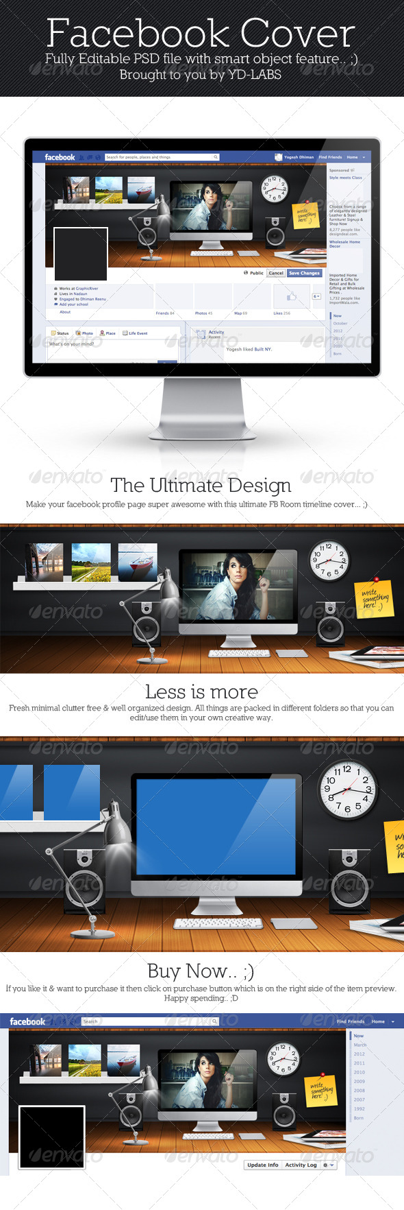 GraphicRiver FB Room Cover 5286647