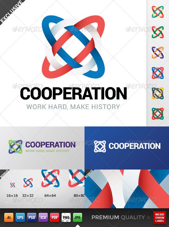 GraphicRiver Cooperation Logo 5271933