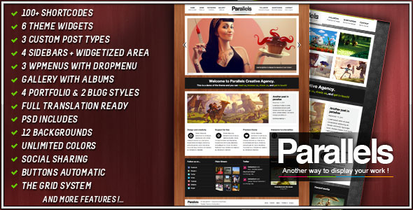 Parallels Premium Wordpress
