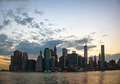 New York City cityscape at sunset - PhotoDune Item for Sale