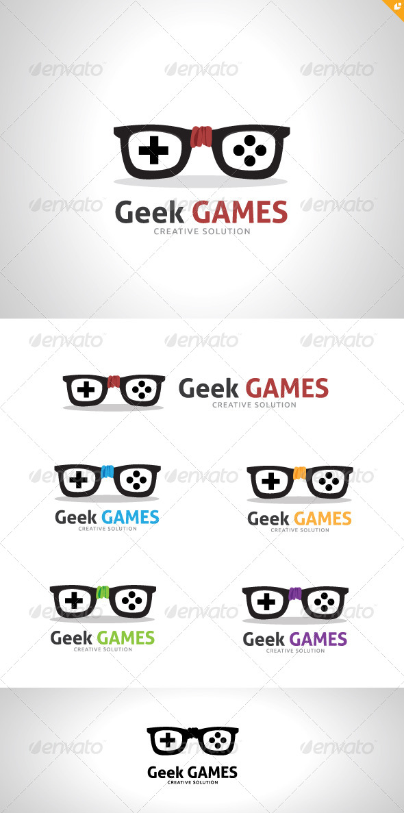 GraphicRiver Geek Games 5288237