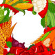 Autumn Welcome  vegetables - GraphicRiver Item for Sale