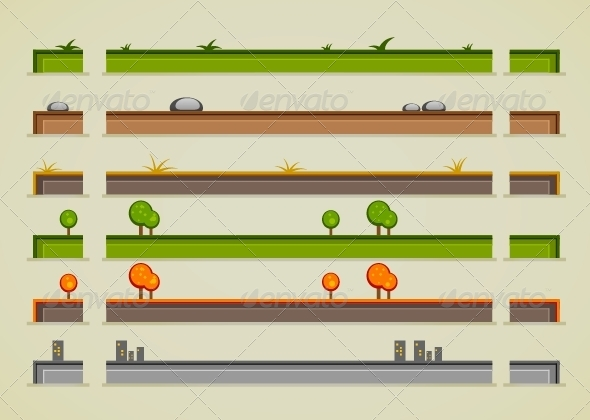 GraphicRiver Ground Sprites 5289253