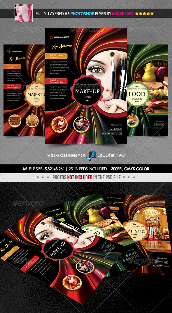 GraphicRiver Multipurpose Promotion Poster Flyer 5290469
