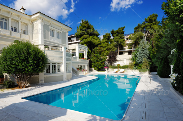 Stock Photo - PhotoDune Luxury Villa With Swimming Pool 544717