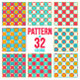 Season Geometrical Patterns in 32 colors - GraphicRiver Item for Sale