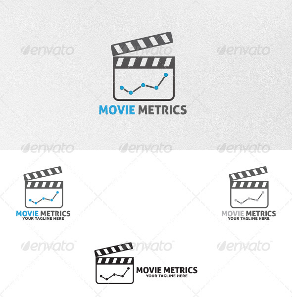 GraphicRiver Movie Metrics Logo Template 5292157