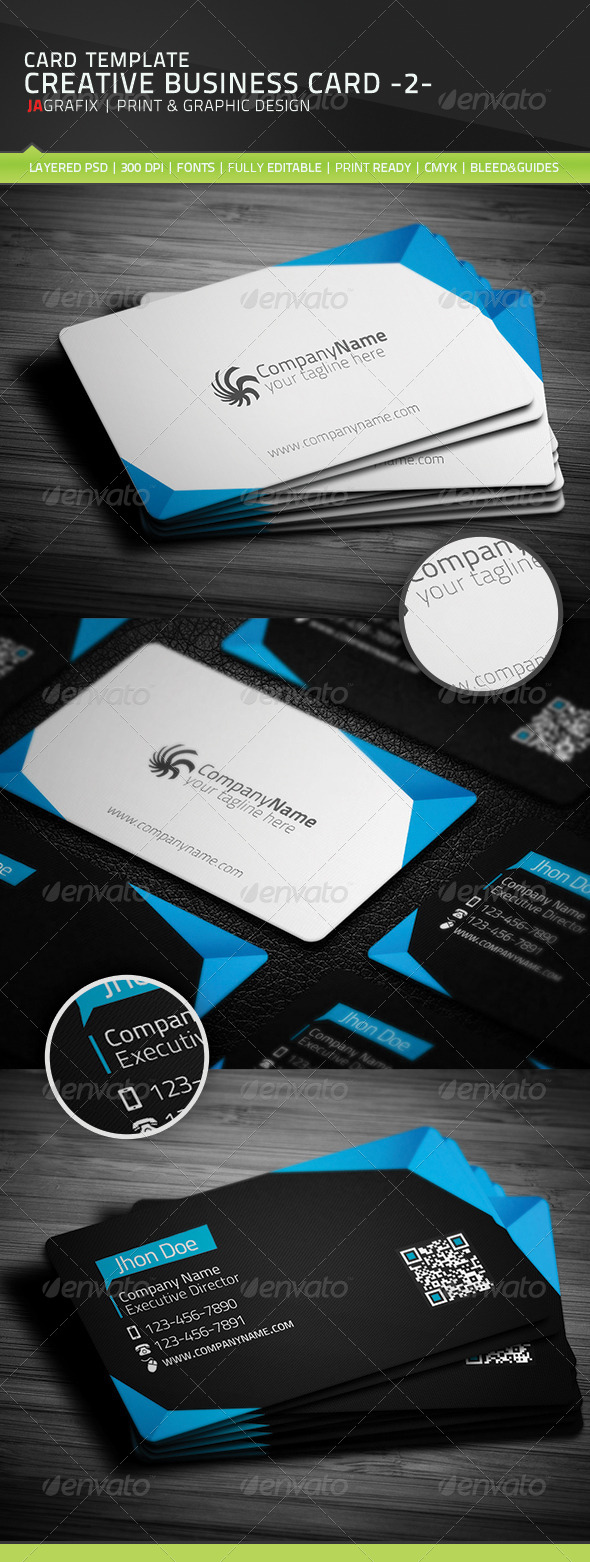 GraphicRiver Creative Business Card 2- 5292182