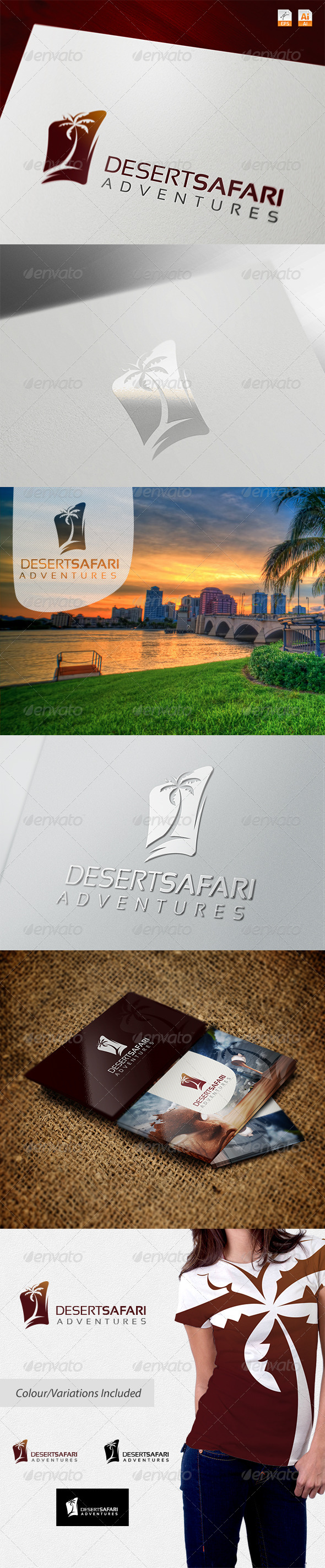 GraphicRiver Desert Safari Adventures 5286398
