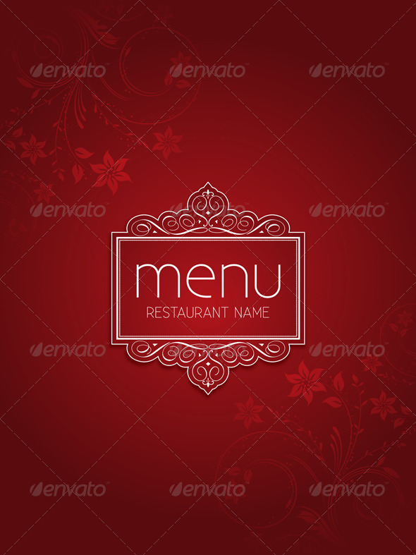 GraphicRiver Menu Design 5292796