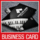 Musician Business Card - GraphicRiver Item for Sale