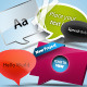 Designers Must Have Speech Bubbles - GraphicRiver Item for Sale