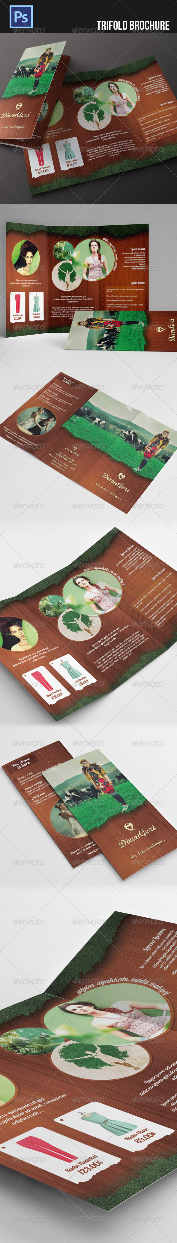 GraphicRiver Trifold Brochure 5295594