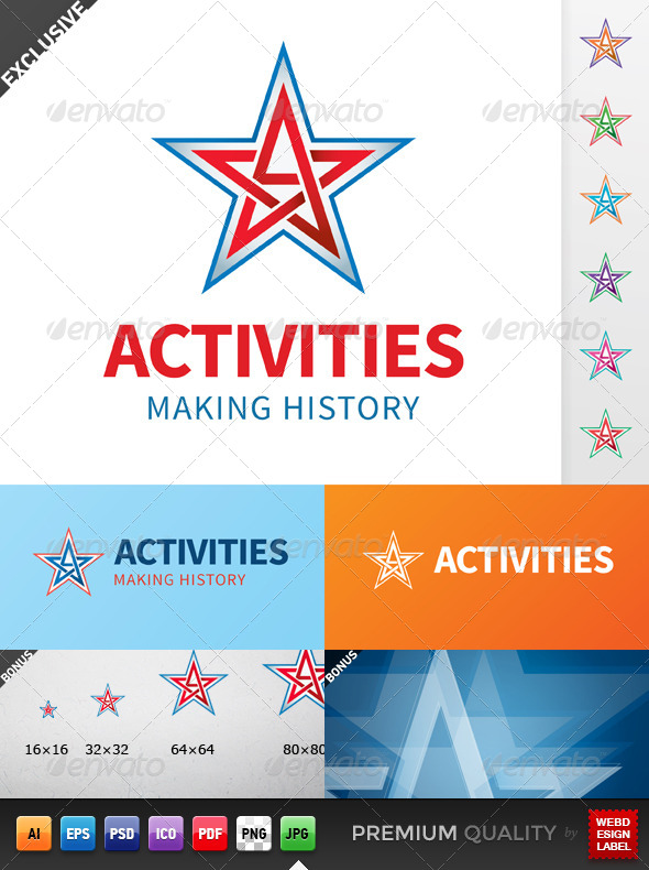 GraphicRiver Activities Logo 5294197