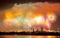 Firework celebration Redentore (Venice, Italy) - PhotoDune Item for Sale