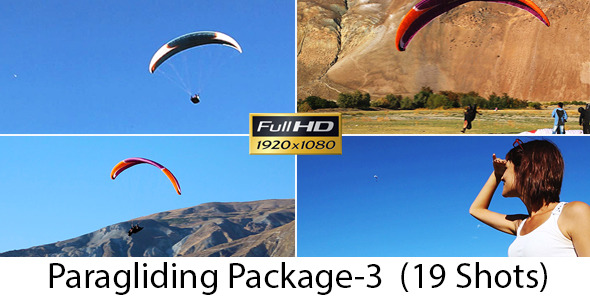 VideoHive Paragliding Package 3 5299052
