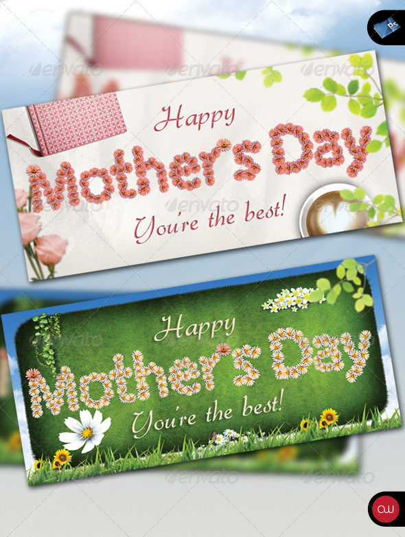Greeting Card - Happy Mother's Day - Holiday Greeting Cards