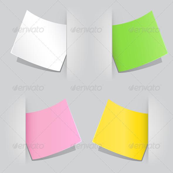 GraphicRiver Colored Paper 5302027