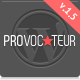Provocateur - Creative Wordpress Theme - ThemeForest Item for Sale